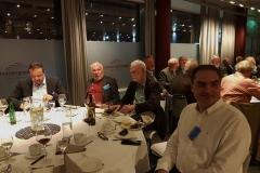 Konferencemiddag, hvor vi danskere drillede nordmændene med Gro Harlem Brundtland