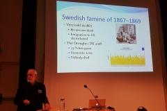 Hungersnød i Sverige i 1867-69 da man var ludfattige og manglede energi