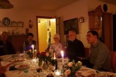 Til middag hos professor Solheim & fru Gunvor