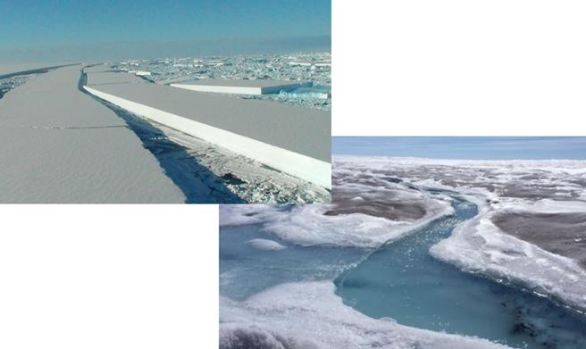Hvorfor ser vi ikke længere de helt store isflager rive sig løs omkring Antarktis?