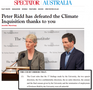 Vigtig sejr ved domstolen for professor og koral forsker Peter Ridd