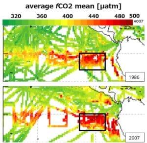 Hvilke faktorer forklarer den ekstra CO2 i atmosfæren?