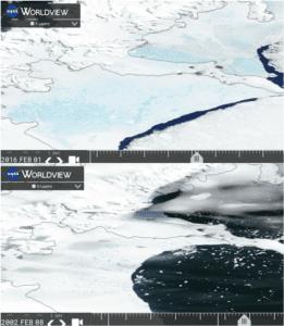 Updates fra den Antarktiske halvø ved Larsen B ishylden