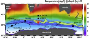 Kold plet i Sydhavet