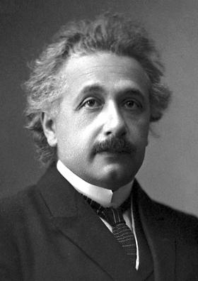 Forskel på Einstein og IPCC